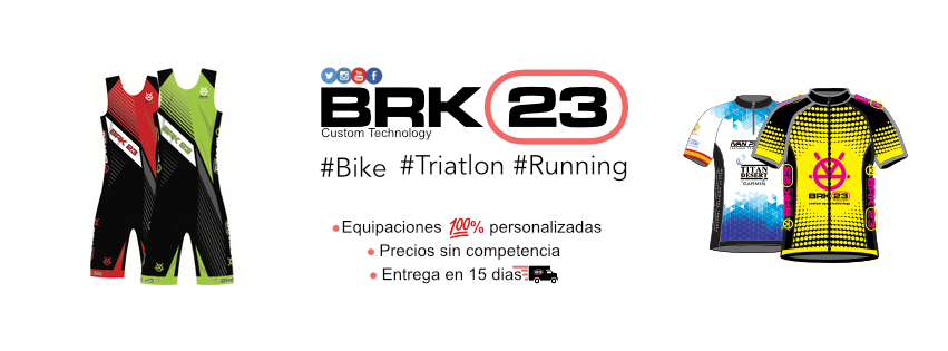 BRK23 Sponsor ropa oficial Pirene Xtreme Triathlon